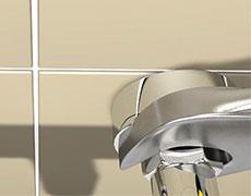 Установка термостатического смесителя Grohe - фото 7