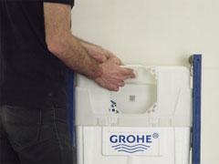 Установка заливного механизма инсталляции Grohe - фото 2