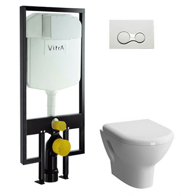 Ремонт инсталляции Vitra
